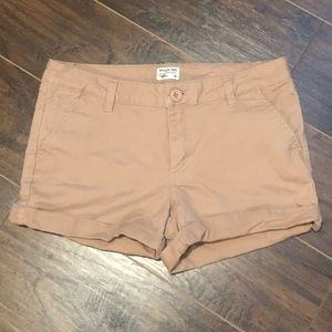 Woman's RVCA khaki Shorts